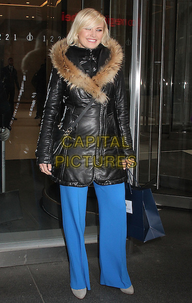 NEW YORK, NY - JANUARY 7: Malin Akerman spotted leaving SiriusXM studios in New York, New York on January 7, 2016.  <br /> CAP/MPI/RMP<br /> &copy;RMP/MPI/Capital Pictures