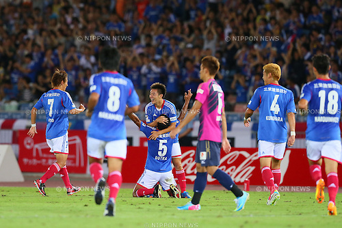 Dutra (F Marinos), SEPTEMBER 14, 2013 - Football / Soccer : <br /> 2013 J.LEAGUE Division 1, 25th Sec <br /> match between Yokohama F Marinos 1-1 Cerezo Osaka<br />  at Nissan Stadium in Kanagawa, Japan. (Photo by AFLO SPORT) [1156]