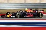 Scuderia Toro Rosso Honda driver Alexander Albon (23) of Thailand in action during the Formula 1 Emirates United States Grand Prix race held at the Circuit of the Americas racetrack in Austin,Texas.