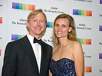 Brian Hook, Senior Policy Advisor to Secretary of State Rex Tillerson and Director of the Secretaryís Policy Planning Staff, and Amy Hook arrive for the formal Artist's Dinner honoring the recipients of the 40th Annual Kennedy Center Honors hosted by United States Secretary of State Rex Tillerson at the US Department of State in Washington, D.C. on Saturday, December 2, 2017. The 2017 honorees are: American dancer and choreographer Carmen de Lavallade; Cuban American singer-songwriter and actress Gloria Estefan; American hip hop artist and entertainment icon LL COOL J; American television writer and producer Norman Lear; and American musician and record producer Lionel Richie. Photo Credit: Ron Sachs/CNP/AdMedia