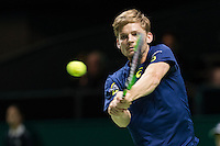 ABN AMRO World Tennis Tournament, Rotterdam, The Netherlands, 16 Februari, 2017, David Goffin (BEL)<br /> Photo: Henk Koster