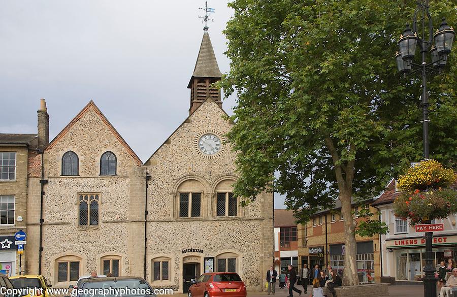 Moyse's Hall museum, Bury St Edmunds, Suffolk, England