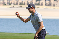 Niklas Lemke (SWE) during the first round of the Ras Al Khaimah Challenge Tour Grand Final played at Al Hamra Golf Club, Ras Al Khaimah, UAE. 31/10/2018<br /> Picture: Golffile | Phil Inglis<br /> <br /> All photo usage must carry mandatory copyright credit (&copy; Golffile | Phil Inglis)