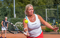 Etten-Leur, The Netherlands, August 27, 2017,  TC Etten, NVK, Woman's doubles Liesbeth Meij / Josephine van der Stroom (R)<br /> Photo: Tennisimages/Henk Koster