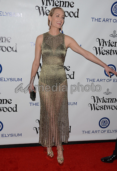 09 January  - Los Angeles, Ca - Amber Valletta. Arrivals for The Art of Elysium's Presents Vivienne Westwood & Andreas Kronthaler's 2016 HEAVEN Gala held at 3Labs. Photo Credit: Birdie Thompson/AdMedia
