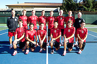 The Stanford Men's Tennis Team Photo taken on Wednesday, September 25, 2013.