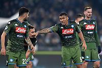 Allan of  Napoli <br /> Roma 11-01-2020 Stadio Olimpico <br /> Football Serie A 2019/2020 <br /> SS Lazio - SSC Napoli<br /> Foto Antonietta Baldassarre / Insidefoto
