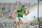 Donnchadh Walsh, Kerry in action against \t0\ in the first round of the Munster Football Championship at Fitzgerald Stadium on Sunday.