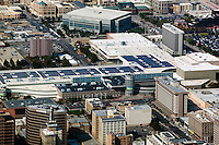 aerial photograph Calvin L. Rampton Salt Palace Convention Center, Salt Lake City, Utah