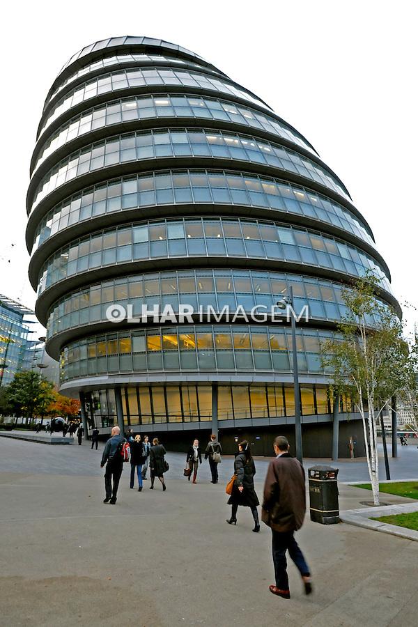 Edifícios modernos em Londres. Inglaterra. 2008. Foto de Juca Martins.