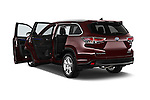 Car images of a 2015 Toyota Highlander Limited Hybrid 4x4 5 Door SUV Doors