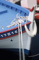 Europe/France/Corse/2B/Haute-Corse/Cap Corse/Centuri: bateau de pêche sur le port