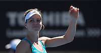 MARIA KIRILENKO..Tennis - Apia Sydney International -  Sydney 2013 -  Olympic Park - Sydney - NSW - Australia. Sunday 6th January  2013. .© AMN Images, 30, Cleveland Street, London, W1T 4JD.Tel - +44 20 7907 6387.mfrey@advantagemedianet.com.www.amnimages.photoshelter.com.www.advantagemedianet.com.www.tennishead.net