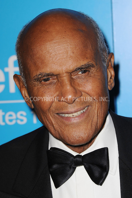 WWW.ACEPIXS.COM . . . . . .November 27, 2012...New York City....Harry Belafonte attends the Unicef Snowflake Ball at Cipriani 42nd Street on November 27, 2012 in New York City ....Please byline: KRISTIN CALLAHAN - ACEPIXS.COM.. . . . . . ..Ace Pictures, Inc: ..tel: (212) 243 8787 or (646) 769 0430..e-mail: info@acepixs.com..web: http://www.acepixs.com .