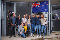 The Fabulous Support Team. 2019 NED-FEI Olympic Qualifier for Team Jumping - Group G. Topps International Arena. Valkenswaard. Netherlands. Monday 12 August. Copyright Photo: Libby Law Photography