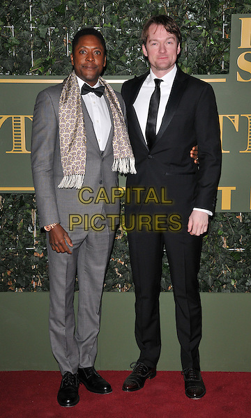 Matt Henry &amp; Killian Donnelly attend the London Evening Standard Theatre Awards 2015, The Old Vic, The Cut, London, England, UK, on Sunday 22 November 2015.<br /> CAP/CAN<br /> &copy;CAN/Capital Pictures
