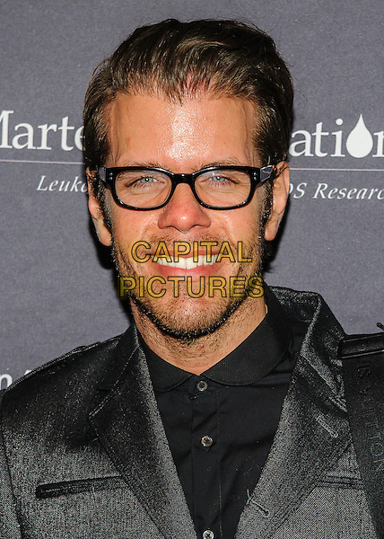 Perez Hilton<br /> 38th Annual T.J. Martell Foundation New York Honors Gala, New York, New York, USA.<br /> October 22nd, 2013<br /> headshot portrait black suit glasses stubble facial hair shirt <br /> CAP/ADM/MSA<br /> &copy;Mario Santoro/AdMedia/Capital Pictures