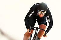 Picture by Alex Whitehead/SWpix.com - 09/12/2017 - Cycling - UCI Track Cycling World Cup Santiago - Velódromo de Peñalolén, Santiago, Chile - New Zealand's Natasha Hansen competes in the Women's Sprint qualifying.