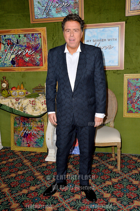 LOS ANGELES, CA. October 04, 2018: Sacha Gervasi at the Los Angeles premiere for &quot;My Dinner With Herve&quot; at Paramount Studios.<br /> Picture: Paul Smith/Featureflash