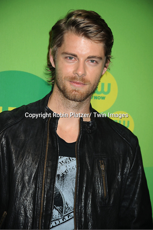 Luke Mitchell attends the CW Network's 2013 Upfront Presentation on May 16, 2013 at the London Hotel in New York City.
