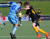 Capital v Northland men. 2019 National Hockey Under-18 Tournament at National Hockey Stadium in Wellington, New Zealand on Friday, 12 July 2019. Photo: Dave Lintott / lintottphoto.co.nz