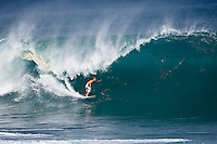 ANTHONY WALSH (AUS)  surfing the Banzai Pipeline, North Shore of Oahu, Hawaii. Photo: joliphotos.com