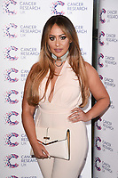 Sophie Kasaei<br /> arriving at James Ingham's Jog On To Cancer, in aid of Cancer Research UK at The Roof Gardens in Kensington, London. <br /> <br /> <br /> ©Ash Knotek  D3248  12/04/2017