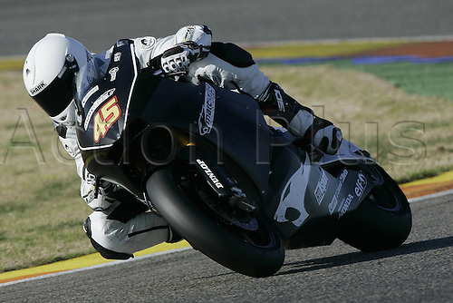 01/03/2010 Ricardo Tormo Circuit Valencia ESP MotoGP Scot Marc riding for the VDS Racing Team. Photo: Imago/Actionplus. Editorial Use UK.