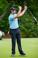 Jon Rahm (ESP) helps his putt on 7 during round 3 of the World Golf Championships, Dell Technologies Match Play, Austin Country Club, Austin, Texas, USA. 3/24/2017.<br /> Picture: Golffile | Ken Murray<br /> <br /> <br /> All photo usage must carry mandatory copyright credit (&copy; Golffile | Ken Murray)