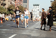 New York, NY. October 22nd, 1978. Participants of the 9th New York Marathon.