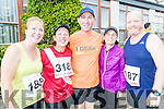Lorna White and Lucy Fitzell (Tralee) with Mike Brosnan and Rose Brosnan (Ballymac) and Brian White (Tralee).