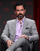 """BEVERLY HILLS - AUGUST 6: Cast Member Danny Pino onstage during the """"Mayans M.C."""" panel at the FX Networks portion of the Summer 2019 TCA Press Tour at the Beverly Hilton on August 6, 2019 in Los Angeles, California. (Photo by Frank Micelotta/FX Networks/PictureGroup)"""