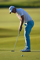 David Horsey of England putts during Round 1 of the 2015 Alfred Dunhill Links Championship at the Old Course, St Andrews, in Fife, Scotland on 1/10/15.<br /> Picture: Richard Martin-Roberts | Golffile