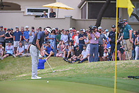 Bubba Watson (USA) watches his putt on 7 during day 5 of the World Golf Championships, Dell Match Play, Austin Country Club, Austin, Texas. 3/25/2018.<br /> Picture: Golffile | Ken Murray<br /> <br /> <br /> All photo usage must carry mandatory copyright credit (&copy; Golffile | Ken Murray)