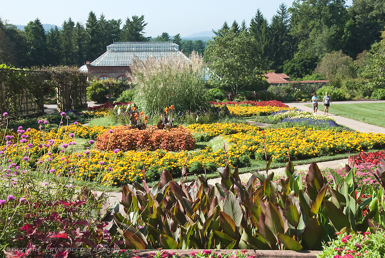 Biltmore Estate Conservatory and Walled Garden in Summer