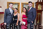 Enjoying the Mercy Mounthawk Debs at Ballyroe Heights Hotel on Tuesday were Eoin McGrath, Chloe Coffey, Rachel Coffey and James Kelly