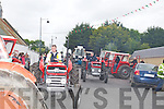 VINTAGE: The Vintage tractors on parade in Kilflynn in conjuction with the Kilflynn Vintage Rally which started on Saturday evening........