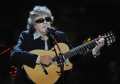 """Washington, DC - October 13, 2009 -- Jose Feliciano performs at a White House Music Series """"Fiesta Latina"""" with United States President Barack Obama on the South Lawn of the White House in Washington on Tuesday, October 13, 2009. .Credit: Alexis C. Glenn / Pool via CNP"""