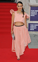 "LONDON, ENGLAND - AUGUST 08: Vicky Lee at the ""Pain and Glory"" Film4 Summer Screen opening gala & launch party, Somerset House, The Strand, on Thursday 08 August 2019 in London, England, UK.<br /> CAP/CAN<br /> ©CAN/Capital Pictures"