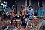 Logging Workers Migrants Deforestation Sarawak
