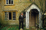 Great Tew Oxfordshire 1980s. Oscar Hemmings Lower Grove Ash Farm, where he lived and grew up.