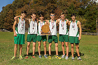 The Woodlawn varsity boys cross country team claimed Woodlawn's first-ever NCISAA 1A State Championship title Friday morning in Hendersville, NC.<br /> <br /> Charlotte Photographer - PatrickSchneiderPhoto.com