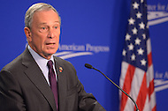 November 8, 2011  (Washington, DC)  New York City Mayor Michael R. Bloomberg spoke at the Center For American Progress in Washington about the challenges facing the Congressional Joint Selection Committee on Deficit Reduction.   (Photo by Don Baxter/Media Images International)