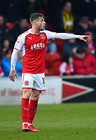 Fleetwood Town's Conor McAleny gestures<br /> <br /> Photographer Richard Martin-Roberts/CameraSport<br /> <br /> The EFL Sky Bet League One - Fleetwood Town v Plymouth Argyle - Saturday 10th March 2018 - Highbury Stadium - Fleetwood<br /> <br /> World Copyright &not;&copy; 2018 CameraSport. All rights reserved. 43 Linden Ave. Countesthorpe. Leicester. England. LE8 5PG - Tel: +44 (0) 116 277 4147 - admin@camerasport.com - www.camerasport.com