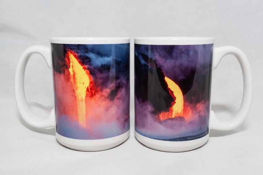 15 oz. Mug   - Hawaiian Lava - $25 + $6 shipping.<br /> Contact me to order.