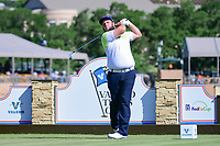 Andrew Johnston (GBR) watches his tee shot on 11 during round 4 of the Valero Texas Open, AT&amp;T Oaks Course, TPC San Antonio, San Antonio, Texas, USA. 4/23/2017.<br /> Picture: Golffile | Ken Murray<br /> <br /> <br /> All photo usage must carry mandatory copyright credit (&copy; Golffile | Ken Murray)