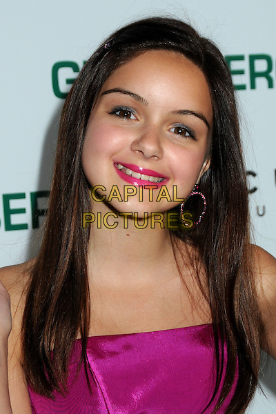 """ARIEL WINTER .""""Greenberg"""" Los Angeles Premiere held at Arclight Cinemas, Hollywood, California, USA..March 18th, 2010.headshot portrait lipstick pink strapless .CAP/ADM/BP.©Byron Purvis/AdMedia/Capital Pictures."""