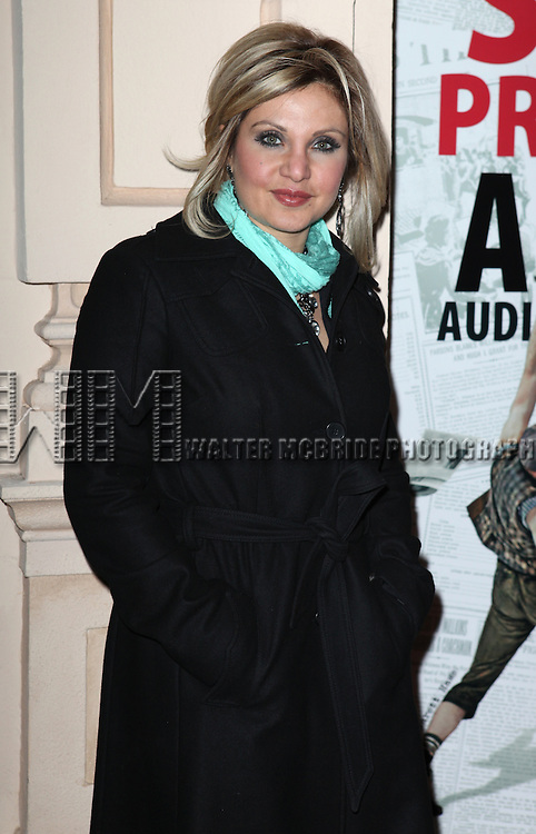 Orfeh.attending the Broadway Opening Night Performance of.'Newsies - The Musical' at the Nederlander Theatre in NewYork City on 3/29/2012 © Walter McBride / WM Photography