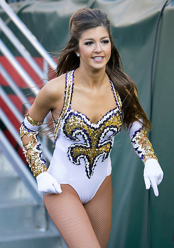 December 30, 2014:  LSU Golden Girl during NCAA Football game action between the Notre Dame Fighting Irish and the LSU Tigers at LP Field in Nashville, Tennessee.  Notre Dame defeated LSU 31-28.