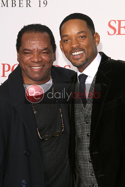 John Witherspoon and Will Smith <br /> at the Los Angeles Premiere of 'Seven Pounds'. Mann Village Theatre, Westwood, CA. 12-16-08<br /> Dave Edwards/DailyCeleb.com 818-249-4998